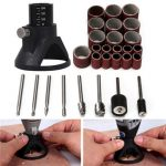 29pcs Drill Carving Positioner Locator with Sanding Bands and Rotary Burr for Dremel