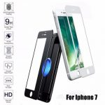0.3mm Thickness 9H 2.5D Rounded Edge Explosion-proof Tempered Glass Screen Protector For iPhone 7