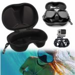 Diving Mask Scuba Glasses Case Protector Container Organizer Box For Gopro 3 Plus 4 Xiaomi Yi SJcam
