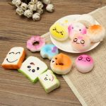 13PCS Simulation Cute Soft Squishy Super Slow Rising Ballchain Kid Toy Collection