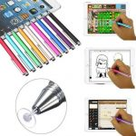 Fine Point Round Thin Tip Capacitive Stylus Pen for Tablet Cellphone