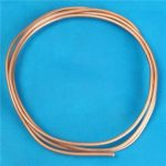 Soft Copper Tube 0.5mm Thickness Coil Capillary Tube for Refrigeration Length 2M
