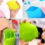 Maple Leaf Silicone Water Cup Portable Drinking Bottle Ourdoors Cycling Pocket Mug Toothbrush Cover