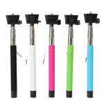 Extendable Handheld Monopod Selfie Stick With 3.5mm Cable