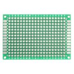 1pc Double Side Prototype Breadboard PCB Printed Circuit Board Tinned Universal 40mmx60mm FR4 Fiber