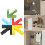 Arrow Shape Hook Clothes Rack Wall Mounted Hanger Home Decor