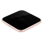 Aluminium DC5V 2A Qi Wireless Charger For iPhone 7 Samsung Xiaomi Huawei