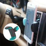 USAMS Phone Stand Car Air Vent Phone Holder 360 Degree Ratotion Car Mount for under 6 inches Phone