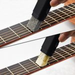 Dual Purpose Guitar Bass String Fingerboard Cleaner Rust Cleaning Tool