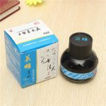 60ml Hero Blue Fountain Pen Ink Refill Glass Bottle School Office