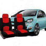 Universal Fabric Car Seat Covers and Headrest Covers Kit