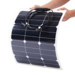 Elfeland 35W 18V Mono Flexible Solar Panel Battery Charger For Camping Boat Caravans