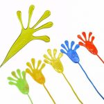 5PCS Climbing Palms Sticky Jelly Hands Squishy Toy Random Color