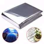 82×47 Inch Silver Plant Reflective Film Grow Light Accessories Greenhouse Reflectance Coating