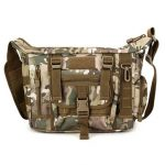 Men Nylon Multifunction Tactical Camouflage Military Casual Shoulder Crossbody Bag