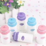 Squishy 10cm Milk Bottle Toy Cute Kawaii Phone Bag Strap Pendant