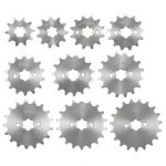 420 10/11/12/13/14/15/16/17/18/19 Teeth Counter Sprocket For 70cc 110cc 125cc Motorcycle