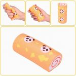 Vlampo Squishy Panda Swiss Roll Kawaii Sponge Cake Toy Slow Rising Original Packaging Collection Gift Decor