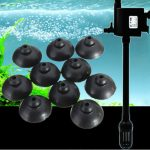10pcs Soft Black Sucker Suction Cup For Aquarium Fish Tank Water Filter Pump