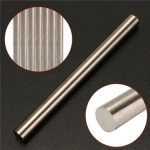 8x100mm Tungsten Solid Rod High Purity Tungsten Tube