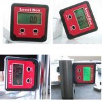 XB-90 360 Degree Precision Digital Bevel Angle Protractor Inclinometer Level Box with Magnet Base