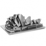 Aipin DIY 3D Puzzle Stainless Steel Model Kit Sydney Opera House
