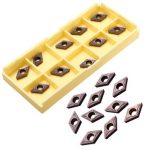 10pcs DCMT0702 EM YBC205 Carbide Insert Turning Tool Holder Inserts For Stainless Steel