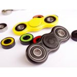 Rotating Spinner Fidget Plastic Toy EDC Hand Spinner For Autism and ADHD Stress Release Gift