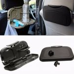 Car Back Seat Folding Table Drink Food Cup Tray Holder Pallet Stand Desk