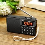 Portable Mini LCD Receiver Digital FM Radio With Speaker MP3 Player Support Micro SD TF Card