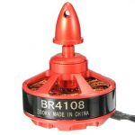 Racerstar Racing Edition 4108 BR4108 380KV 4-12S Brushless Motor For 500 550 600 RC Frame Kit