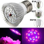 4W E27 E14 GU10 12 Red 6 Blue LED Grow Light Plant Lamp Garden Greenhouse Plant Seedling Light