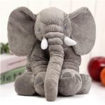 "23.5"" 60cm Cute Jumbo Elephant Plush Doll Stuffed Animal Soft Kids Toy Gift"