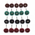 20pcs 25mm Abrasive Wheel Grinding Buffing Polishing Wheel Set For Rotary Tool