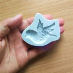 Cake Tools New Peace Dove Silicone Chocolate Handmade Fondant Mold Crafts Mould