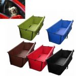 Pet Dog Cat Car Rear Back Seat Waterproof Cover Mat Protector Hammock Cushion