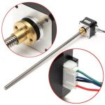 300mm Lead Screw 42 Stepper Motor Z Axis 12VDC 1.3A For 3D Printer CNC