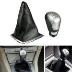 5 Speed Gear Shift Knob Gearstick Gaitor Gaiter Boot Cover For Ford Focus