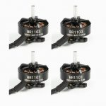 4X Racerstar Racing Edition 1103 BR1103 10000KV 1-2S Brushless Motor Black For 50 80 100 Multirotor