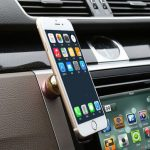 360 Degree Universal Magnetic Ring Car Cell Phone Holder Air Vent Outlet Finger Buckle Stand