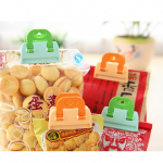 4 pcs Kitchen Storage Bag Clips Seal Fresh Food Chips Coffee Snack Organization Tools