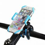 Universal Bicycle Handlebar Phone Mount Holder 360 Rotation Bracket Stand For iPhone 7Plus Xiaomi