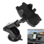 60-900mm 360 Degree Scalable ABS Silicone Car Air Vent Mount Phone Holder