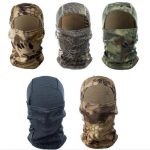 Outdoor Tactical Balaclava Full Face Mask Airsoft Multi Colors