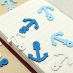 50pcs Wooden Mini Boat Anchor Spear Pendant Scrapbooking Home Buttons Handmade Accessories