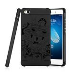 3D Dragon Pattern Fall-resistant Shockproof Silicone Cover Case For Xiaomi Redmi 4A