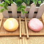 Squishy Squeeze Rice Ball Toy Simulate Japan Pastry Bread Soft Toy Key Chain Cellphone Strap