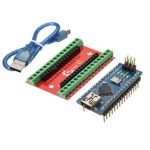 NANO IO Shield Expansion Board Nano V3 Improved Version With Cable For Arduino