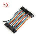 200Pcs 10cm Male To Male Jumper Cable For Arduino