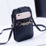 Women's PU Woven Texture Shoulder Bag Crossbody Bag Messenger Bag For iPhone 7/6/6s Plus SE Samsung